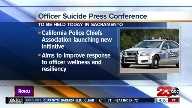 California Police Chiefs Association launching anti-suicide initiative