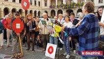 Le mouvement des coquelicots à Vienne