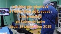 La chirurgie robot à l'Hôtel-Dieu : une première en Saône-et-Loire