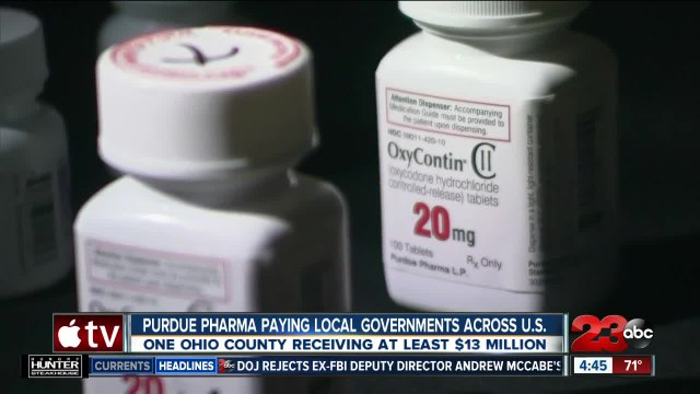 Purdue Pharma paying local governments across the United States