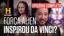 EPISÓDIO COMPLETO | ALIENÍGENAS DO PASSADO | Códigos proibidos de Da Vinci | HISTORY