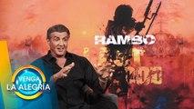 ¡Sylvester Stallone nos da EN EXCLUSIVA los detalles sobre Rambo 5! | Venga La Alegría