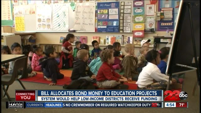 State bill allocates bond money to education projects