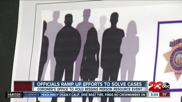 Kern County officials ramp up efforts to solve missing person cases