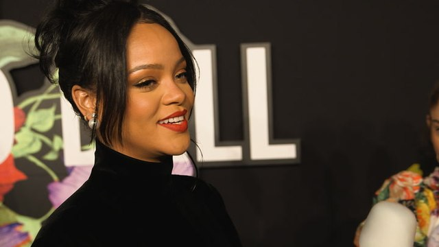 Rihanna Speaks About Hurricane Dorian Relief