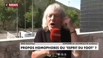 Le supporter de l'OM René Malleville parle d'homophobie en direct à la TV... Mémorable