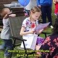 La réaction de cette fillette qui apprend qu'elle a été adoptée par sa belle-mère... Magique