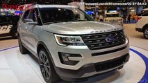 Ford Recalling 338,000+ 2017 Ford Explorers Due to Hand Injuries by Sharp Seat Frame Edge