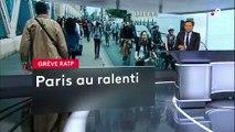 Grève RATP : l'impossible traversée de Paris