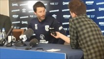 Cowley: pre Huddersfield v Sheffield Wednesday