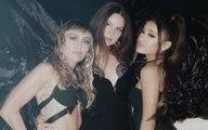 Ariana Grande, Miley Cyrus y Lana del Rey cantan como ángeles en nuevo video