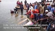 Inde: opérations de sauvetage en cours après la noyade de 12 personnes