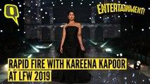 Rapid Fire With Kareena Kapoor