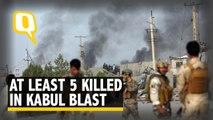 At Least 5 Killed in Kabul Blast, Taliban Claims Responsibility