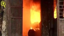 Fire at Godown in Delhi's Punjabi Bagh, 22 Fire Tenders at Spot