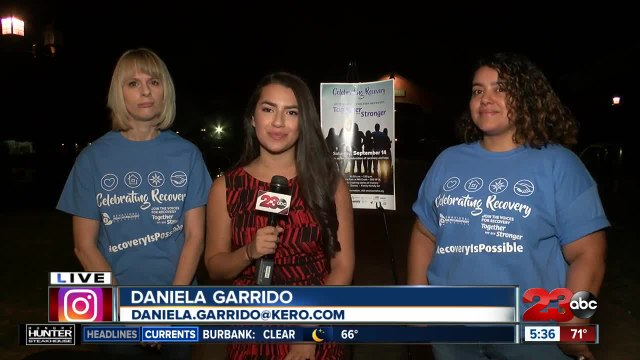 Around Town: 4th Annual Celebrating Recovery event taking place Saturday in Bakersfield