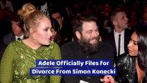 Adele Officially Files for Divorce From Simon Konecki
