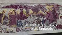 Une tapisserie tisse la saga Game of Thrones à Bayeux