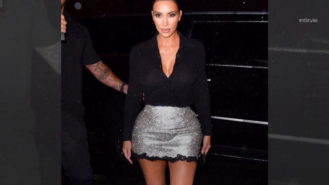 Kim Kardashian Proves This Versace Skirt Still Looks Good, 23 Years Later