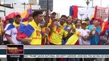 Venezuela: Youth March Against Us Blockade