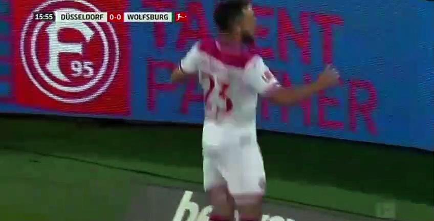 Fortuna Düsseldorf - Wolfsburg maçında VAR şoku!