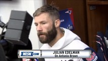 Julian Edelman On Antonio Brown Fitting In With Patriots