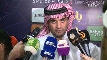 تصريحات خالد البلطان بعد مباراة الشباب والنصر عبر الصدى