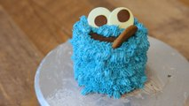 This Adorable Cookie Monster Cake Is Actually A Giant Pile Of Cookies