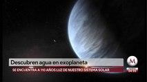 Científicos descubren agua en exoplaneta