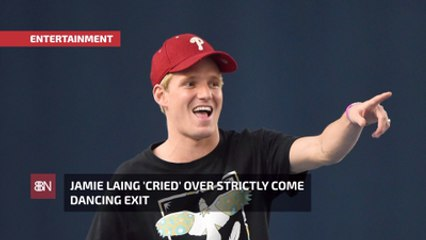 Jamie Laing Sure Wasn't Happy About 'Strictly Come Dancing' Exit