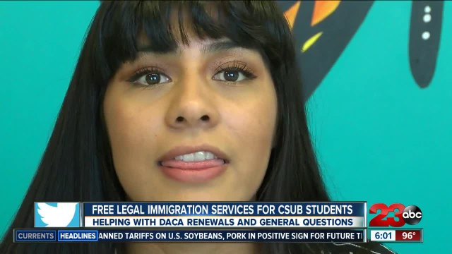 Free legal immigration services for CSUB students