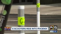 E-scooters will hit Phoenix streets on Monday