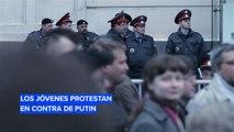 Los jóvenes rusos en contra del régimen de Putin