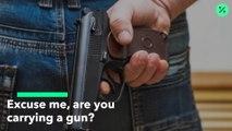 Leyes de portación de armas a la vista