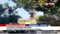 Detik-detik Ledakan di Mako Brimob Srondol Semarang