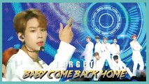 [HOT] TARGET - Baby Come Back Home ,  타겟  - Baby Come Back Home   Show Music core 20190914