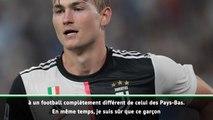 Juventus - Sarri compare De Ligt à... Platini
