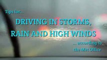 Driving in high winds