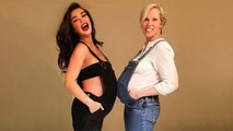 Amy Jackson flaunts her baby bump with her Friend | Boldsky