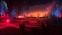 Première du spectacle Indian Legends à Brûlon