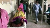 MP: Rain Water Clogged Inside Government Hospital
