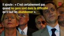 Sarkozy a  « de la peine » pour les Balkany et « espère qu'ils vont tenir le coup »