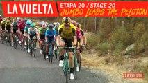 Jumbo Visma en tête du peloton / Jumbo Visma lead the peloton - Étape 20 / Stage 20 | La Vuelta 19