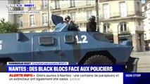 Nantes: les forces de l'ordre déploient les blindés tandis que la tension continue de monter