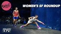 Squash: Open de France - Nantes 2019 - Women's SF Roundup