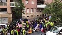 Gilets jaunes : 200 personnes rassemblées à Aix