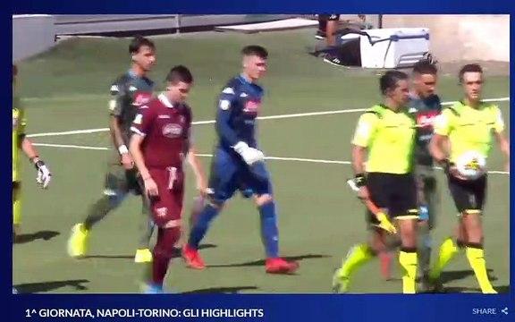 Primavera 1 Napoli-Torino 1-0