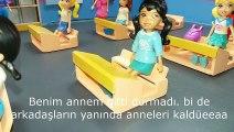 Okulda Ağlayan Öğrenciler | Polly Pocket Oyuncak Bebeklerle Okulun İlk Günü