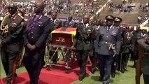 Simbabwe: Mugabe bei staatlicher Trauerfeier als Held gewürdigt