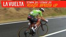 Roglic accélère / Roglic speeds up - Étape 20 / Stage 20 | La Vuelta 19